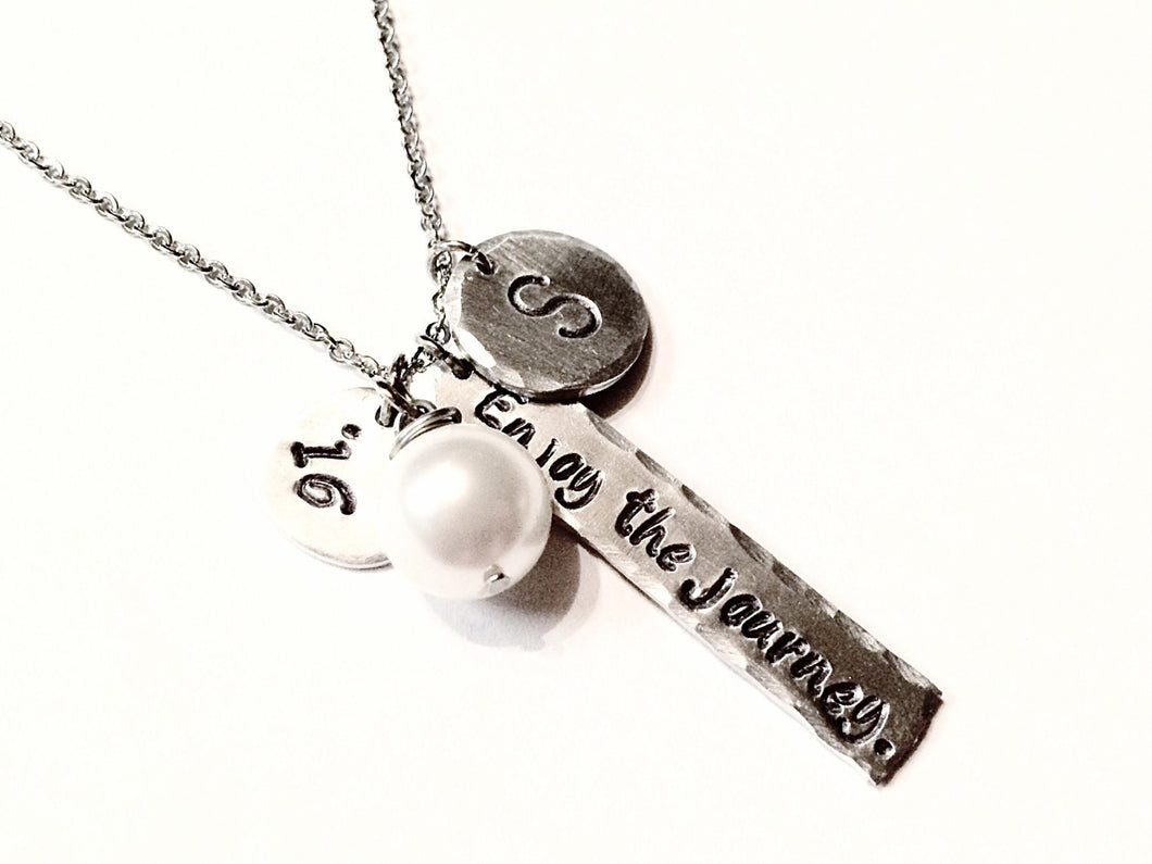 Graduation Charm Necklace -