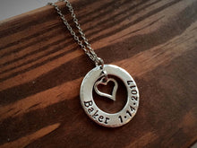 Name and Date Necklace