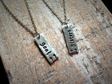 "Best Friend ""soul sisters"" Necklaces - Set of 2"