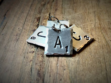 Scrabble Inspired Initial Necklace