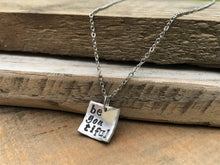 "Minimalist ""be•you•tiful"" Necklace"