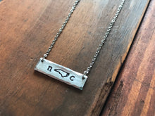 North Carolina NC Necklace