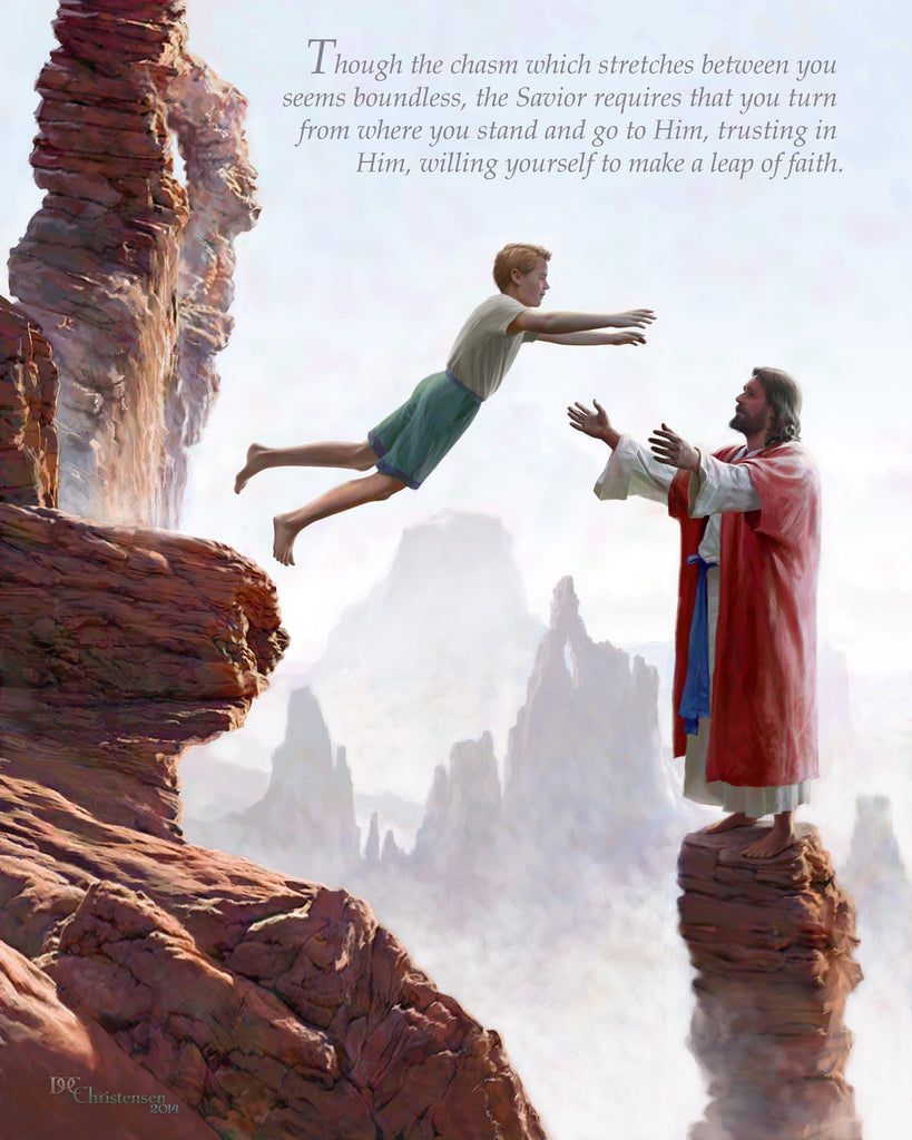 """Leap of Faith"" - Male"