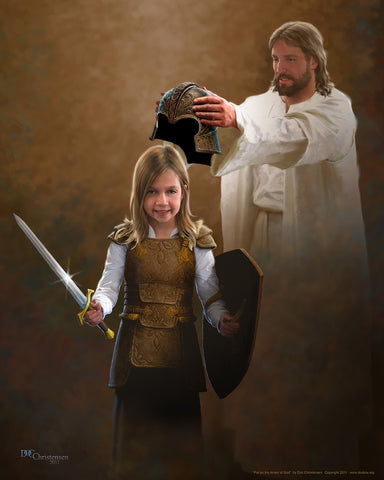 """Put on the Armor of God - Child"""