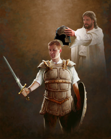 """Put on the Armor of God - Male"""