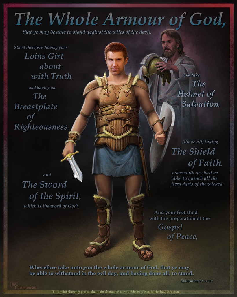 """The Whole Armour of God"" - Male – Celestial Heritage"