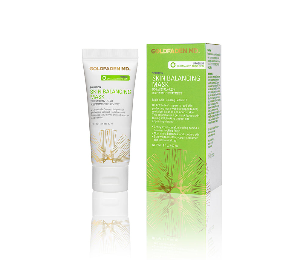 Skin Balancing Mask Botanical Rich Refining Treatment Goldfaden Md Nourish