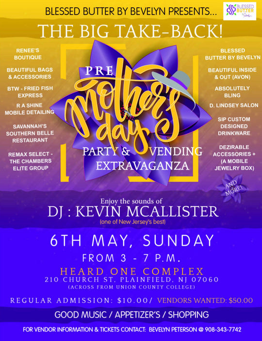 Pre-Mothers Day Party & Vending Extravaganza