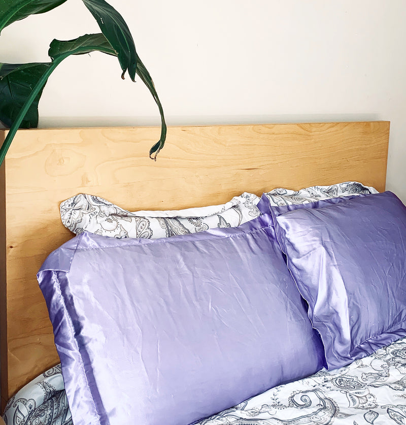 Beauty Strike Satin Pillowcase Set
