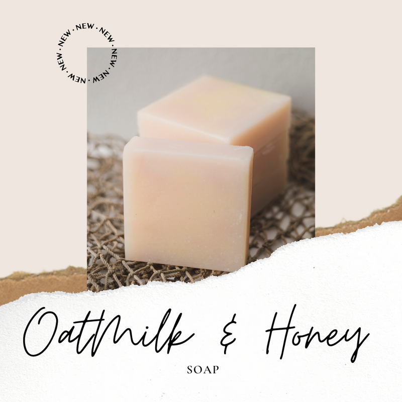Oatmilk & Honey Bar Soap