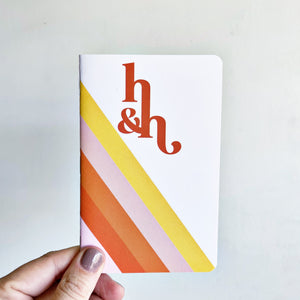 Retro Notebooks (Two 32-Page Lined Pocket-Sized Books)