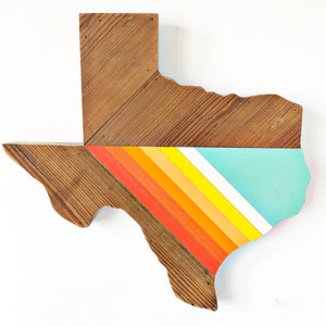 "'76 FRIO TEXAS - 18"" (One-of-a-Kind) - Hemlock & Heather"