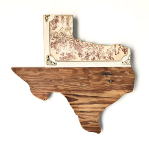 "VINTAGE TEXAS - 15"" (One-of-a-Kind)"