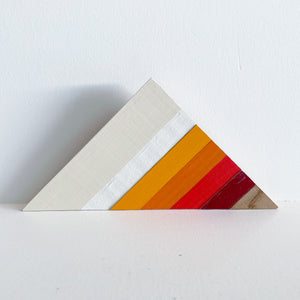 Triangle Shelf Art  7-12 in | One of a Kind