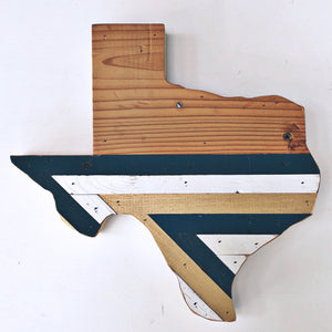 Reclaimed Wood Texas Wall Decor