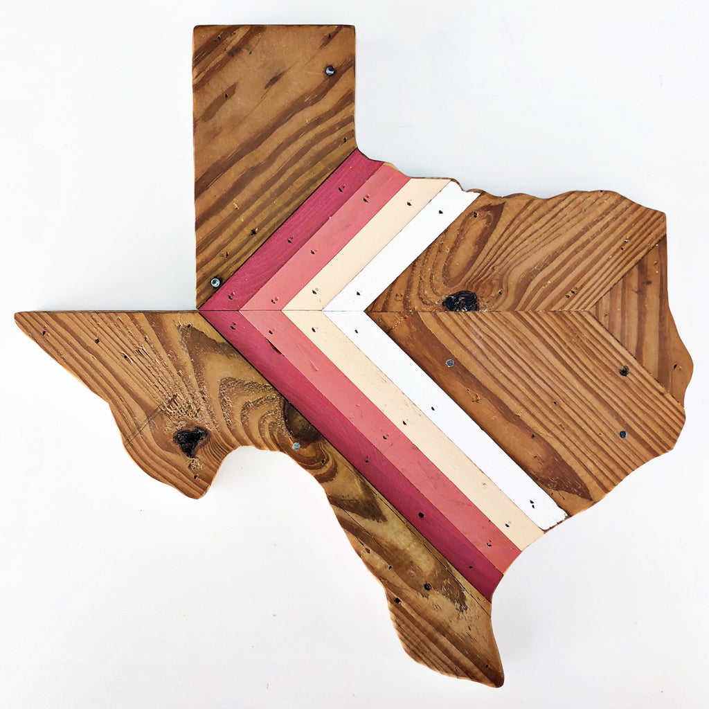 "CHEVRON TEXAS - 18"" (One-of-a-Kind)"
