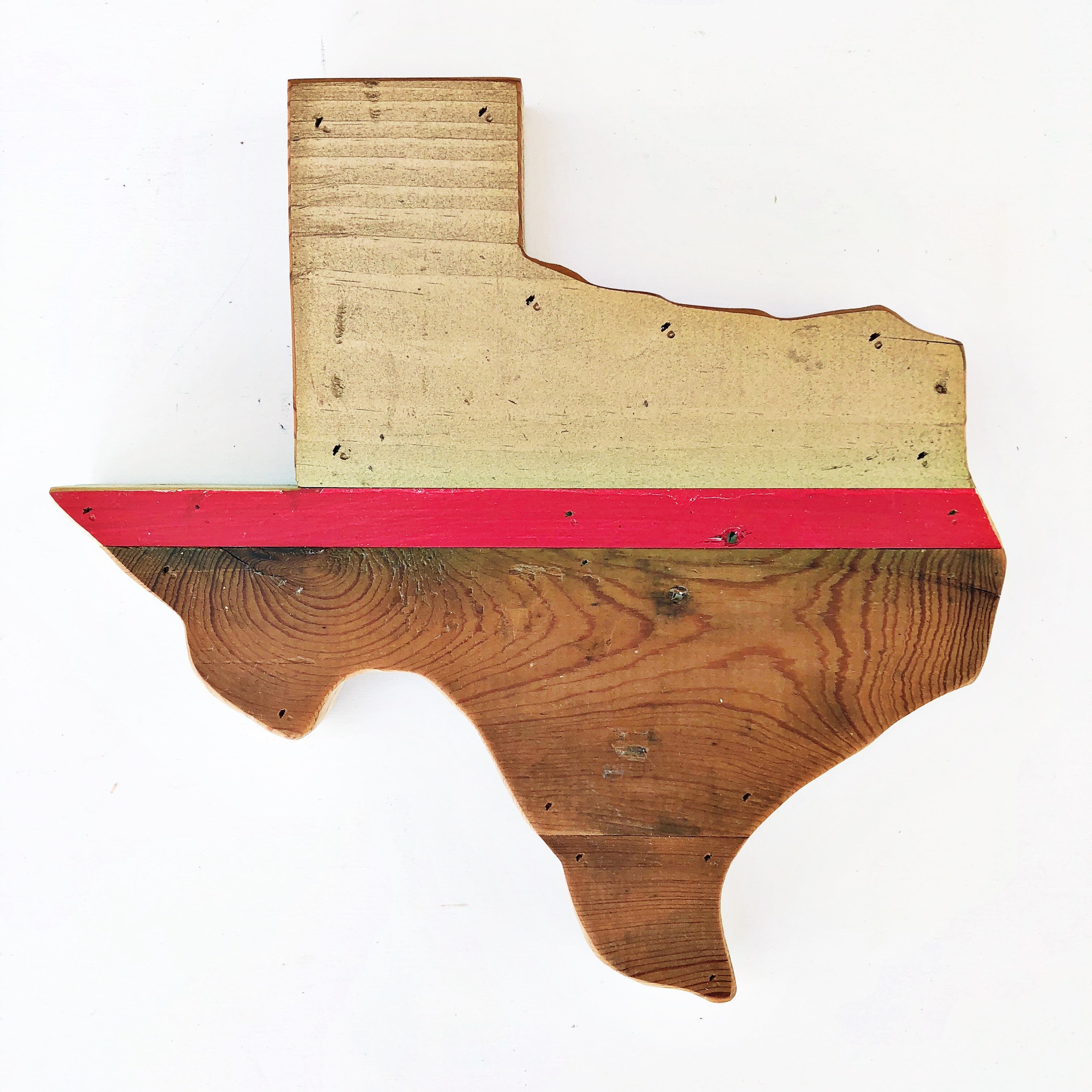 One of a Kind Reclaimed Wood Texas Wall Decor