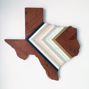 "CHEVRON TEXAS - 24"" (One-of-a-Kind)"