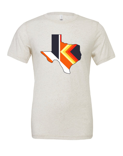 'Stros Inspired Tequila Sunrise Texas T-shirt