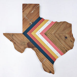"CHEVRON TEXAS - 18""(One-of-a-Kind)"