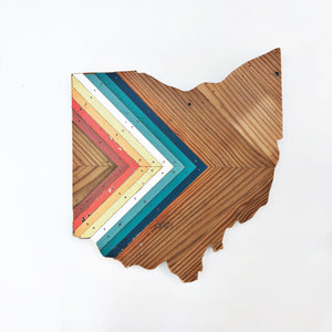 "'76 CHEVRON OHIO - 15"" (One-of-a-Kind)"