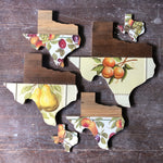 "Load image into Gallery viewer, VINTAGE TEXAS FRUIT - 12"" (One-of-a-Kind) - Hemlock & Heather"