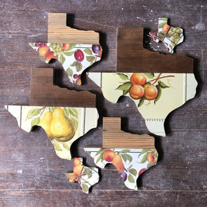 "VINTAGE TEXAS FRUIT - 12"" (One-of-a-Kind) - Hemlock & Heather"