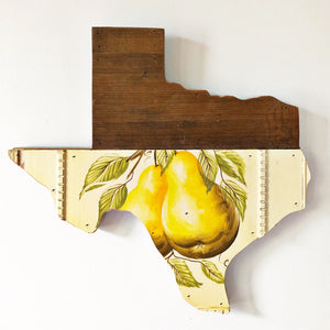 "VINTAGE TEXAS FRUIT - 15"" (One-of-a-Kind) - Hemlock & Heather"