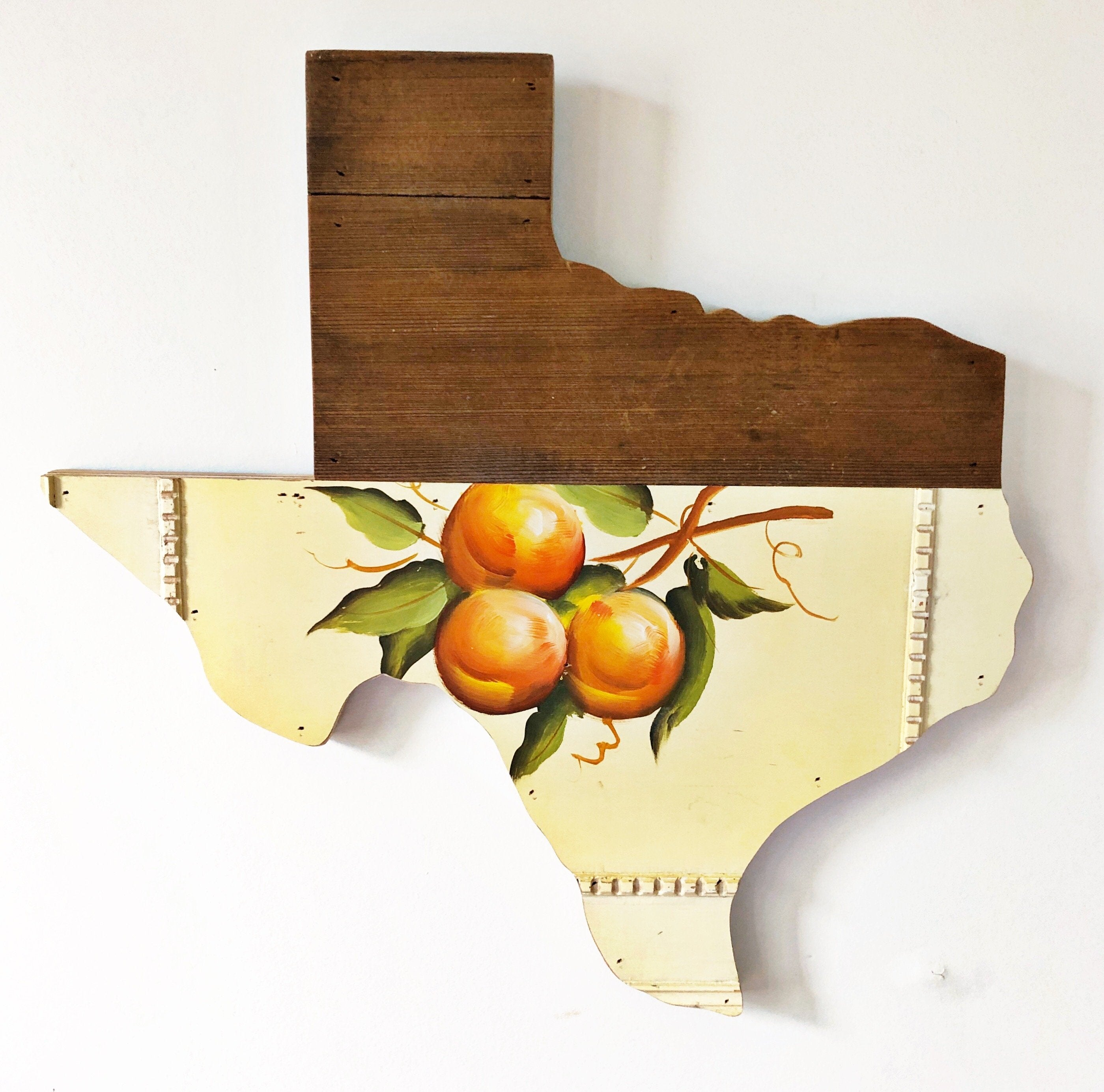 "VINTAGE TEXAS FRUIT - 18"" (One-of-a-Kind) - Hemlock & Heather"