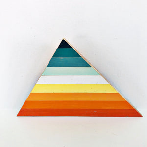 "Triangle Shelf Art - 3-12"" (One-of-a-Kind) - Hemlock & Heather"
