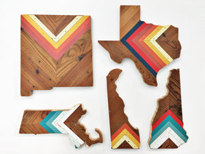 "CHEVRON TEXAS - 15"" (One-of-a-Kind)"