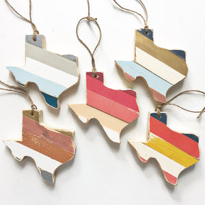 TEXAS ORNAMENT - 6""