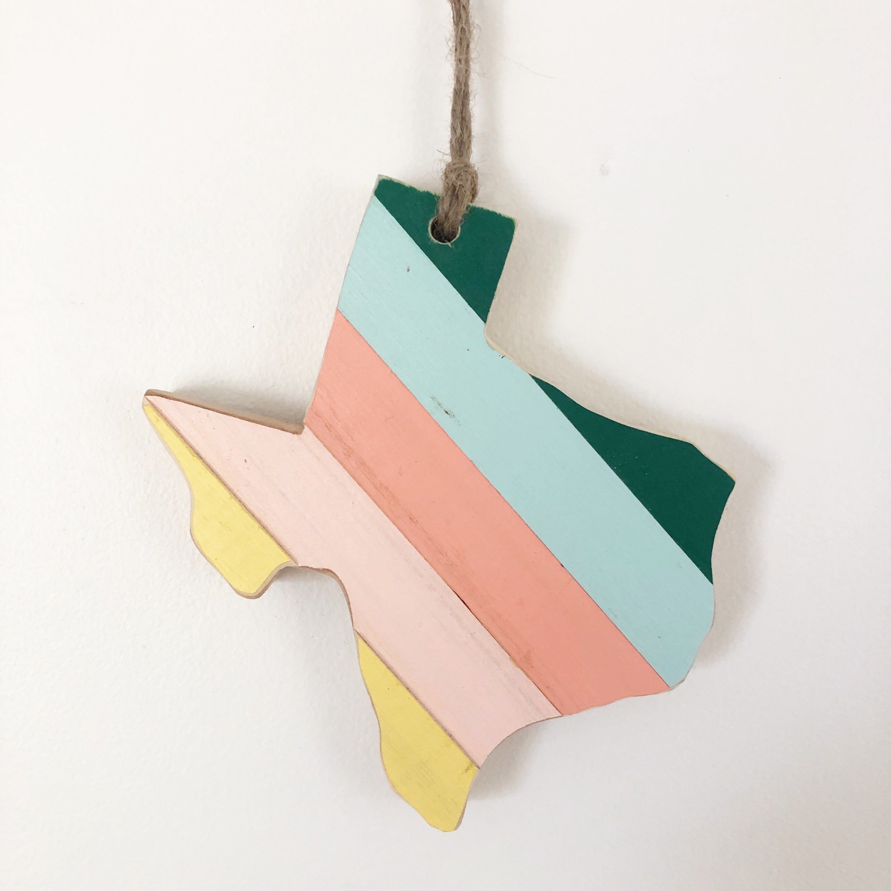 '81 TEXAS ORNAMENT - 6""