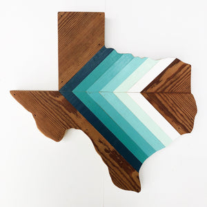"COMAL TEXAS II - 18"" (Custom Order for Rachelle R.) - Hemlock & Heather"