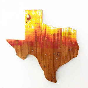 "PAINT BRUSH TEXAS - 18"" (One-of-a-Kind)"