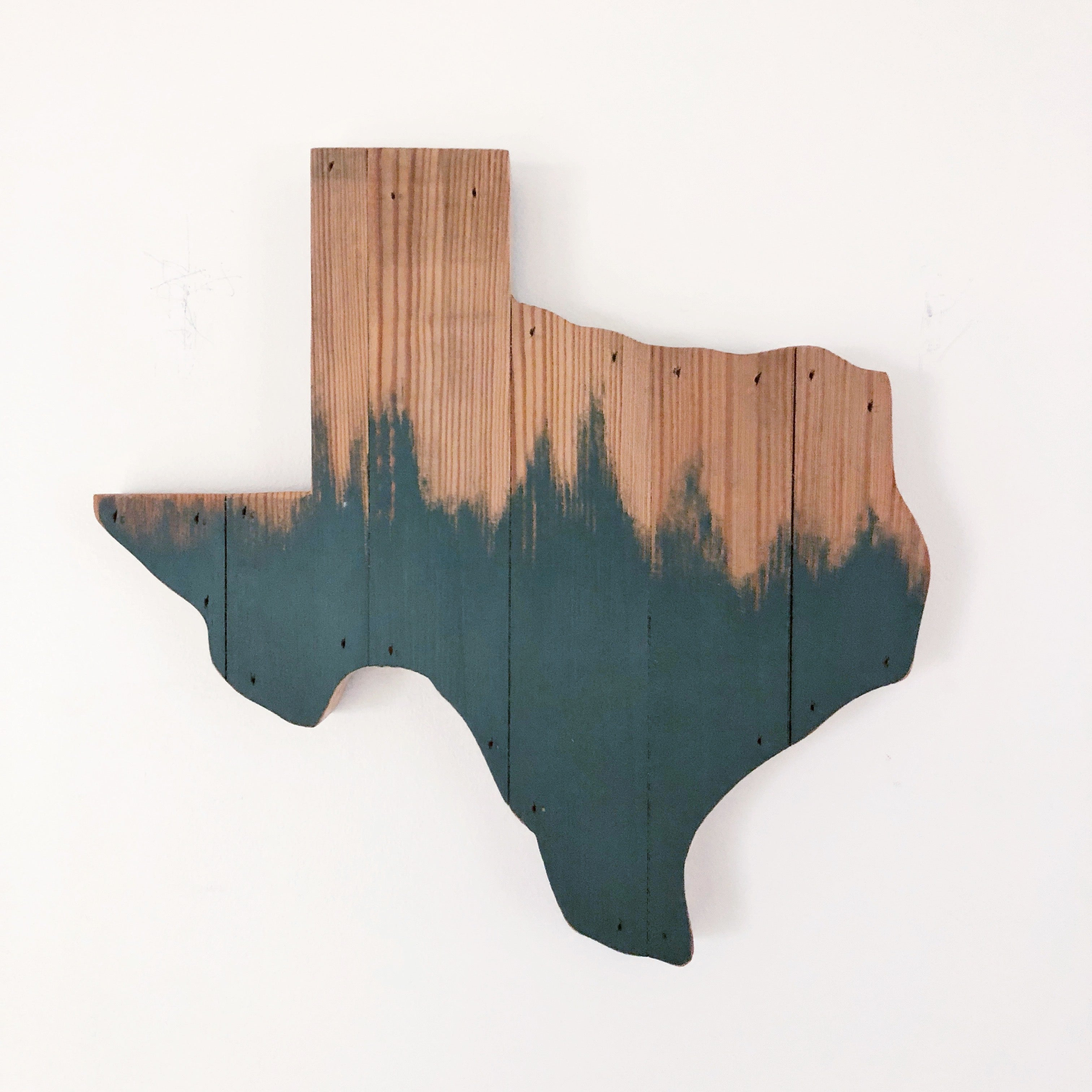 "PAINT BRUSH TEXAS - 12"" (One-of-a-Kind)"