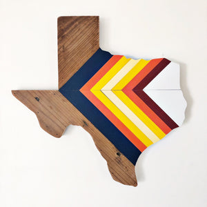 "'76 CHEVRON TEXAS - 'STROS - 18"" (One-of-a-Kind) - Hemlock & Heather"