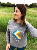 Load image into Gallery viewer, '76 CHEVRON Unisex Sweatshirt - Hemlock & Heather