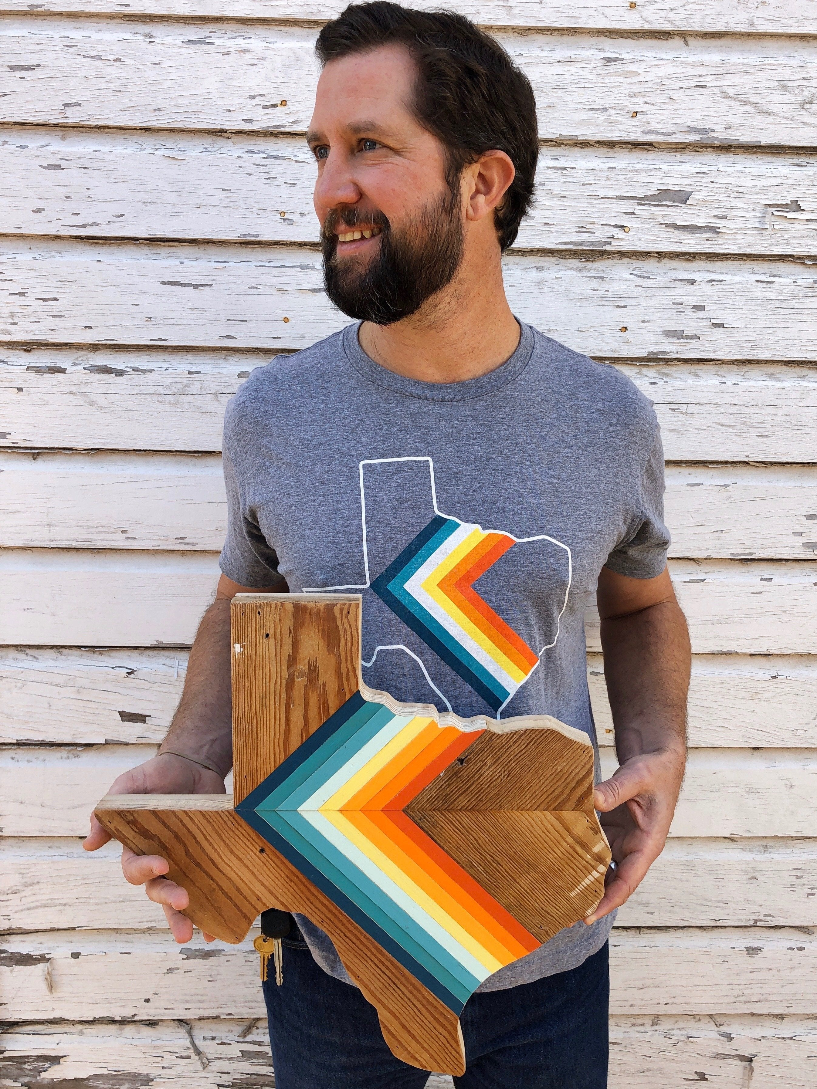 '76 CHEVRON Unisex Tee - Hemlock & Heather
