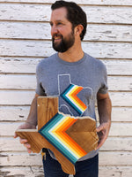Load image into Gallery viewer, '76 CHEVRON Unisex Tee - Hemlock & Heather