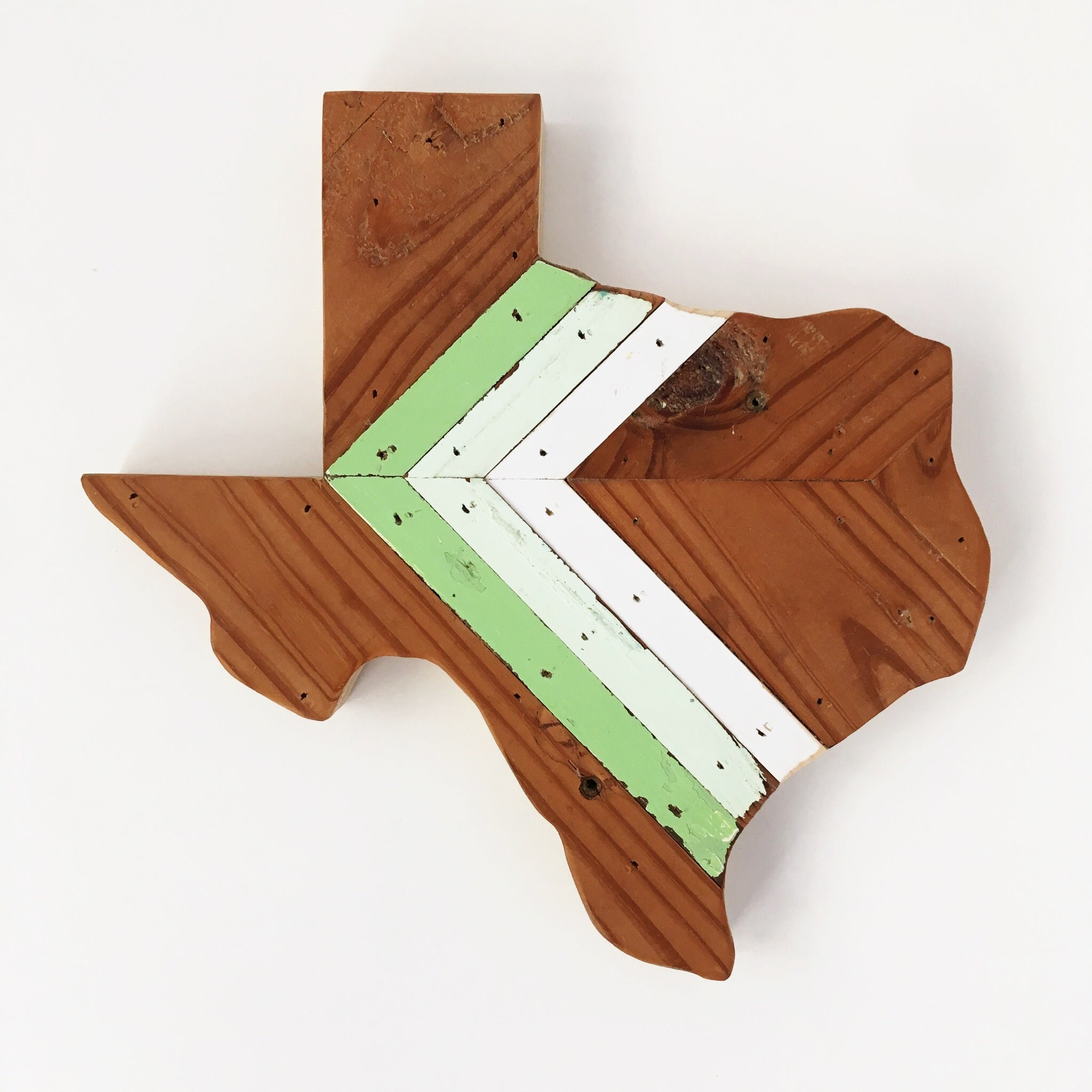 "CHEVRON TEXAS - 12"" (One-of-a-Kind)"