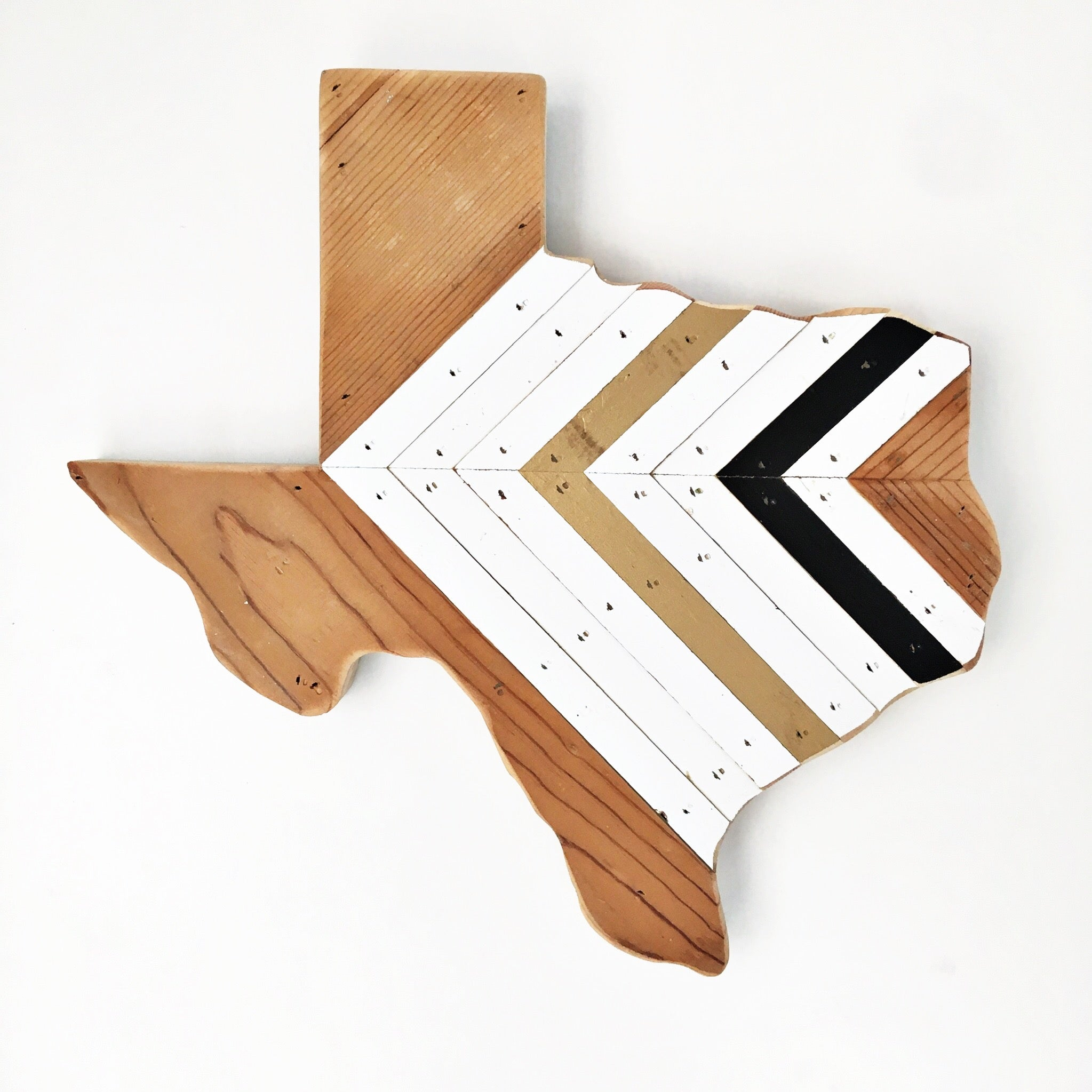 "EXCLUSIVE CHEVRON TEXAS - 15"" (One-of-a-Kind)"