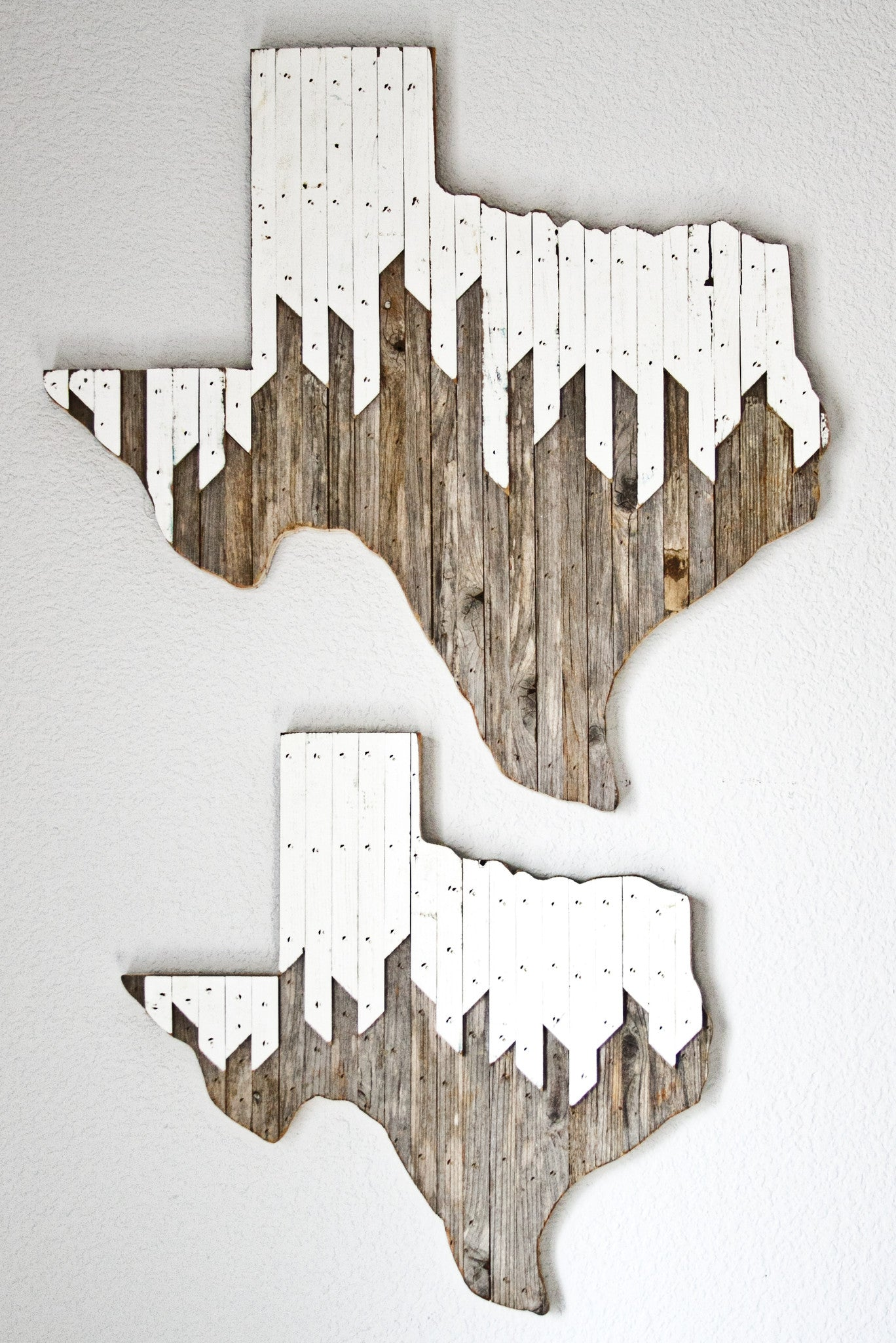 Alpine Texas Wall Hanging 18, 24 in | Made to Order