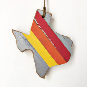 '76 TEXAS ORNAMENT - 6""