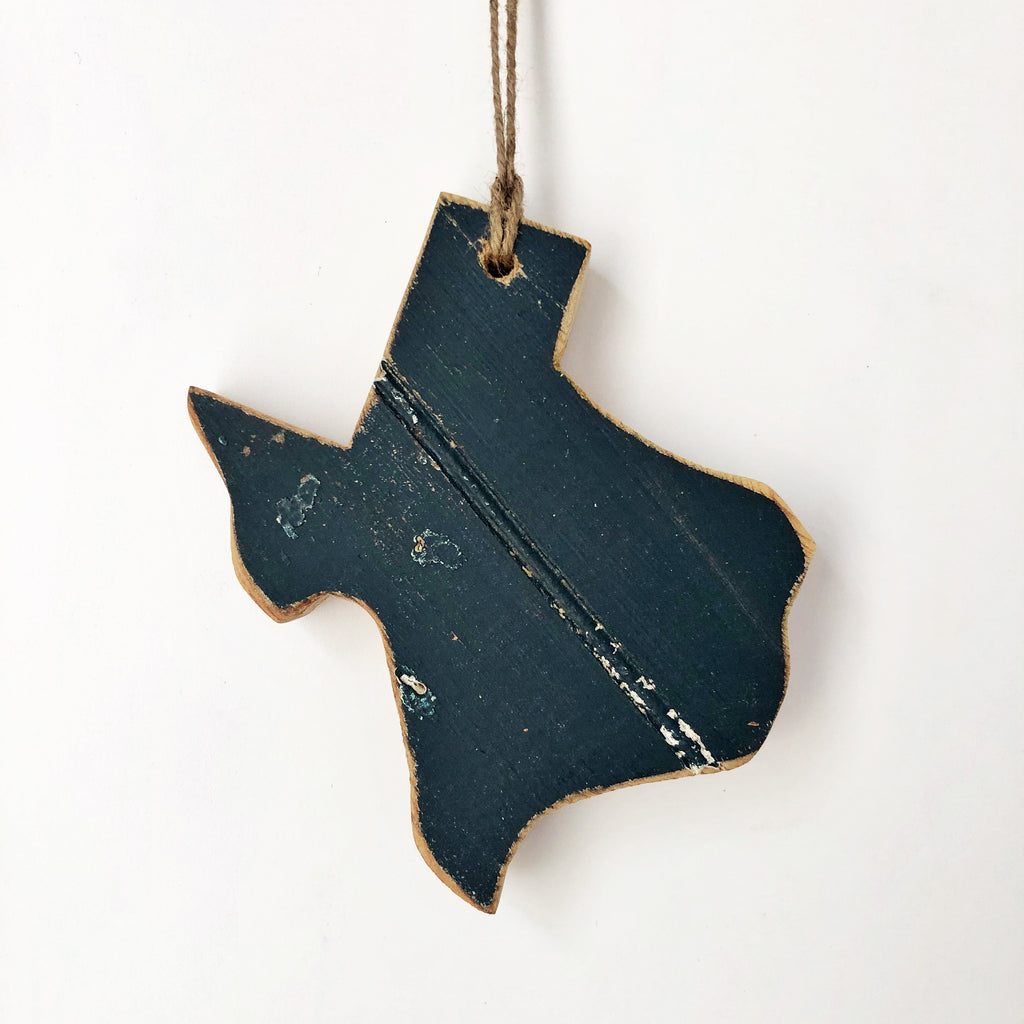 MIDNIGHT TEXAS ORNAMENT - 6""