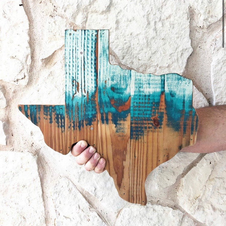 "PAINT BRUSH TEXAS - 15"" (One-of-a-Kind)"