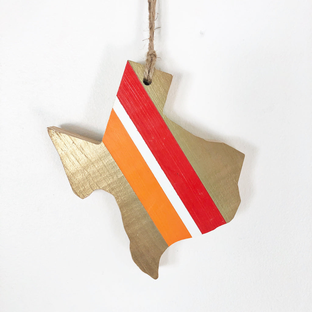 SWA VINTAGE TEXAS ORNAMENT - 6""