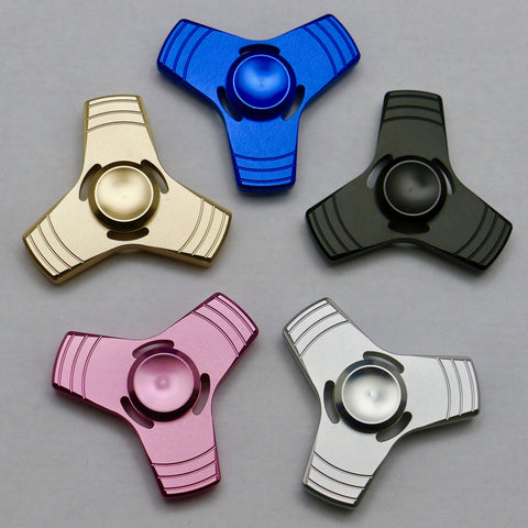 3-Wing Stripe Fidget Spinners