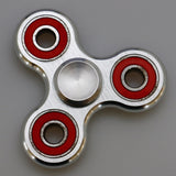 Metal Tri-Wing Fidget Spinner