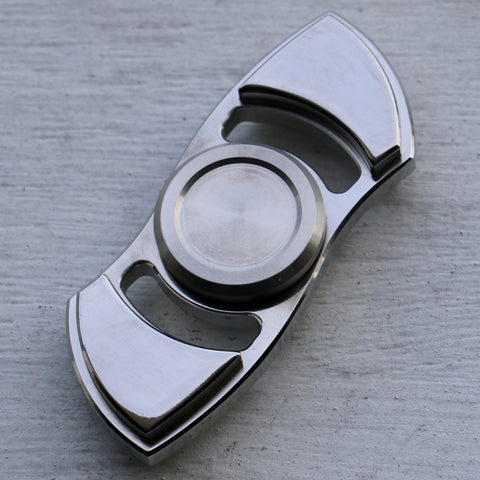 Metal Bi-Wing Fidget Spinner